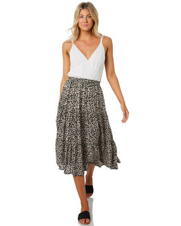 NAVY WOMENS CLOTHING RHYTHM SKIRTS - SMU19W-SK03NVY