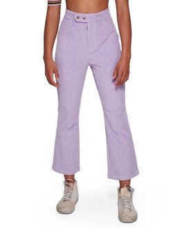 LAVENDER WOMENS CLOTHING BILLABONG PANTS - BB-6591421M-L10