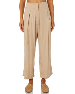 NATURAL WOMENS CLOTHING SANCIA PANTS - 687ANATUR