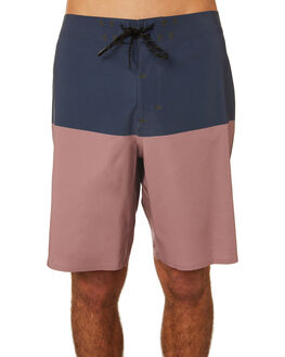 ASTER BLACK MENS CLOTHING OUTERKNOWN BOARDSHORTS - 1810027ABK