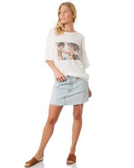 WHITE WOMENS CLOTHING TWIIN TEES - IE19S1013WHI