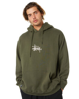FLIGHT GREEN MENS CLOTHING STUSSY JUMPERS - ST005203FGRN