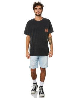 BLACK ACID MENS CLOTHING THE PEOPLE VS TEES - HS19078BKACD