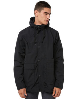 BLACK MENS CLOTHING GLOBE JACKETS - GB01837005BLK