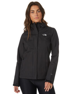 TNF BLACK WOMENS CLOTHING THE NORTH FACE JACKETS - NF0A2VCRJK3