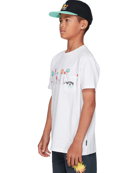 WHITE KIDS BOYS BILLABONG TOPS - BB-8508002-WHT