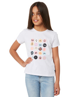 BRIGHT WHITE KIDS GIRLS RUSTY TOPS - TTG0018BTW