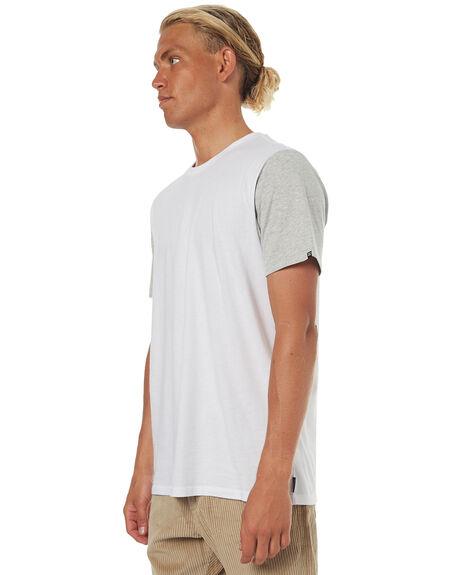 WHITE GREY MENS CLOTHING BILLABONG TEES - 9561030WHT