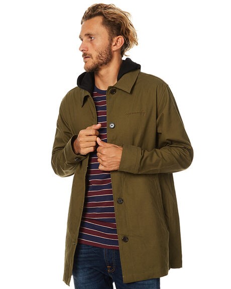 OLIVE MENS CLOTHING RPM JACKETS - 7WMT20AOLIVE