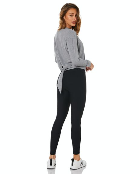 CHARCOAL WHITE WOMENS CLOTHING DK ACTIVE ACTIVEWEAR - DK05-014-CHAWHT-XS
