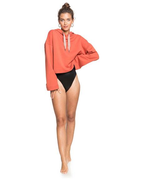 HOT SAUCE WOMENS CLOTHING ROXY HOODIES + SWEATS - ERJFT04201-MNW0