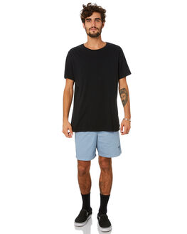 DUSTY BLUE MENS CLOTHING STUSSY SHORTS - ST091601DSTBL