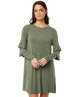 SAGE MARLE WOMENS CLOTHING BETTY BASICS DRESSES - BB503SAGE