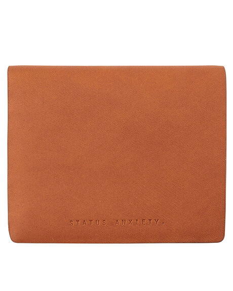 CAMEL MENS ACCESSORIES STATUS ANXIETY WALLETS - SA2043CAM