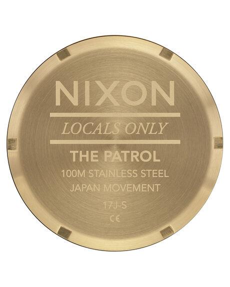 GOLD BLACK MENS ACCESSORIES NIXON WATCHES - A1242513