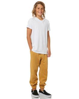 VINTAGE GOLD KIDS BOYS BILLABONG PANTS - 8595307CGLD
