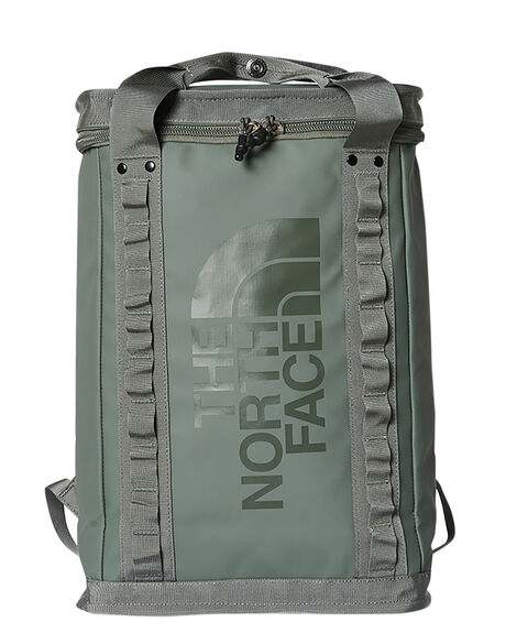 AGAVE GREEN BLACK MENS ACCESSORIES THE NORTH FACE BAGS + BACKPACKS - NF0A3KYFYXN