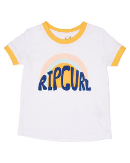WHITE KIDS GIRLS RIP CURL TOPS - FTEBZ11000