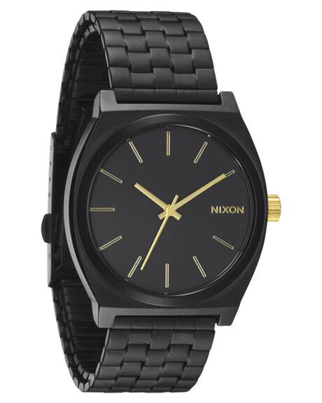 MATT BLACK GOLD MENS ACCESSORIES NIXON WATCHES - A0451041MBG