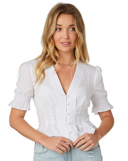 WHITE WOMENS CLOTHING THE FIFTH LABEL FASHION TOPS - 40181012WHI