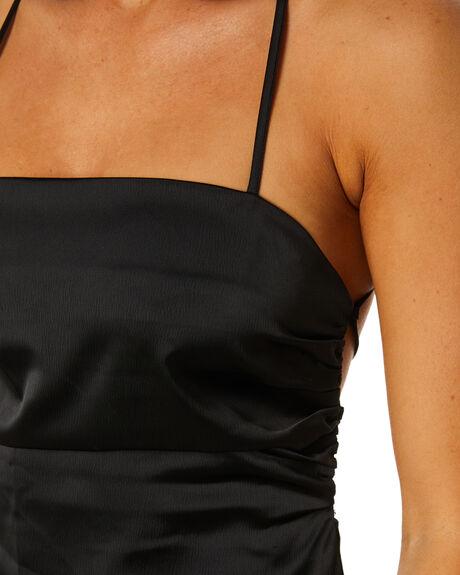 BLACK WOMENS CLOTHING SNDYS DRESSES - SFD394BLK