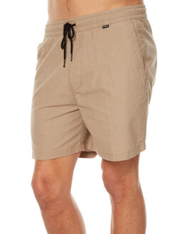 KHAKI MENS CLOTHING HURLEY BOARDSHORTS - MWS000522026B