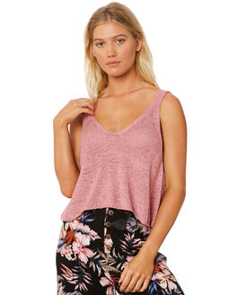 DUSTY LILAC WOMENS CLOTHING SOMEDAYS LOVIN FASHION TOPS - IL18F2807DUSTY
