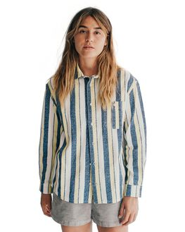 MEDIEVAL BLUE WOMENS CLOTHING QUIKSILVER FASHION TOPS - EQWWT03001-BTE6