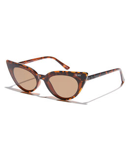 TORT BROWN WOMENS ACCESSORIES QUAY EYEWEAR SUNGLASSES - QW-000506TORBR