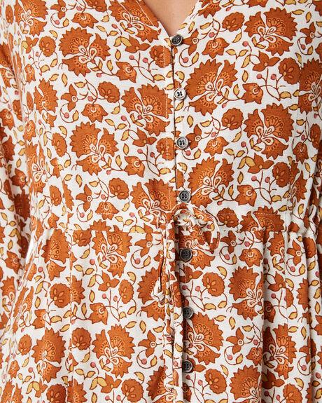 ORANGE WOMENS CLOTHING RIP CURL DRESSES - GDRIC10030