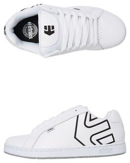 WHITE MENS FOOTWEAR ETNIES SNEAKERS - 4101000203140