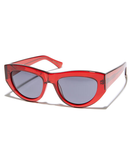 BLOOD RED GLOSS MENS ACCESSORIES EPOKHE SUNGLASSES - 0708-BRTGLBLKBLRED