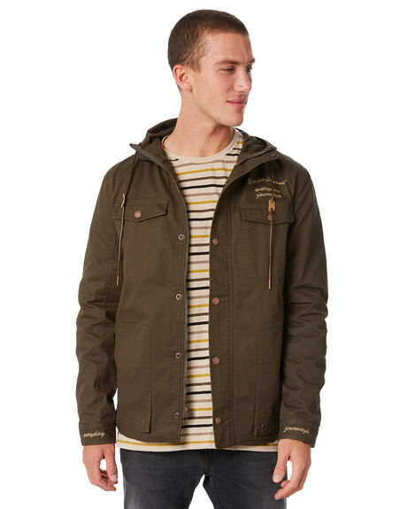 MOSS MENS CLOTHING BANKS JACKETS - WJT0030MOS