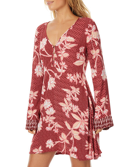 OLD ROSE WOMENS CLOTHING TIGERLILY DRESSES - T375421OROS