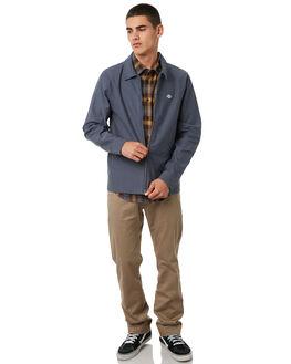 MIDNIGHT BLUE MENS CLOTHING VOLCOM JACKETS - A1531800MDB