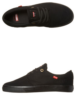 BLACK BLACK MENS FOOTWEAR GLOBE SKATE SHOES - GBCHASE-10006