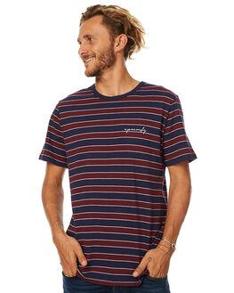 NAVY MENS CLOTHING RPM TEES - 7AMT01CNVY