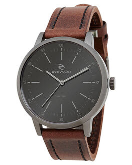 GUNMETAL MENS ACCESSORIES RIP CURL WATCHES - A27930036