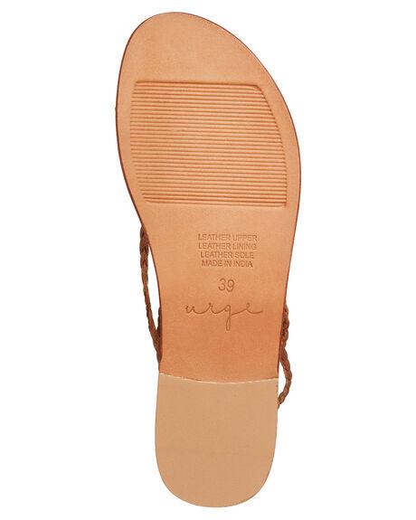 TAN WOMENS FOOTWEAR URGE FASHION SANDALS - URG17163TAN