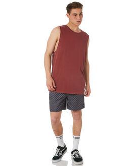 NEW NAVY MENS CLOTHING RVCA BOARDSHORTS - R181407NNVY