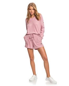 LILAC WOMENS CLOTHING ROXY SHORTS - ERJNS03275-PJM0