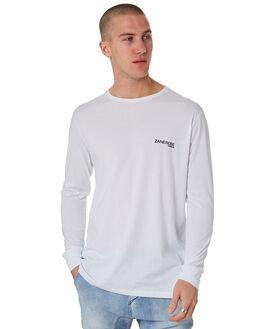 WHITE MENS CLOTHING ZANEROBE TEES - 121-METWHT