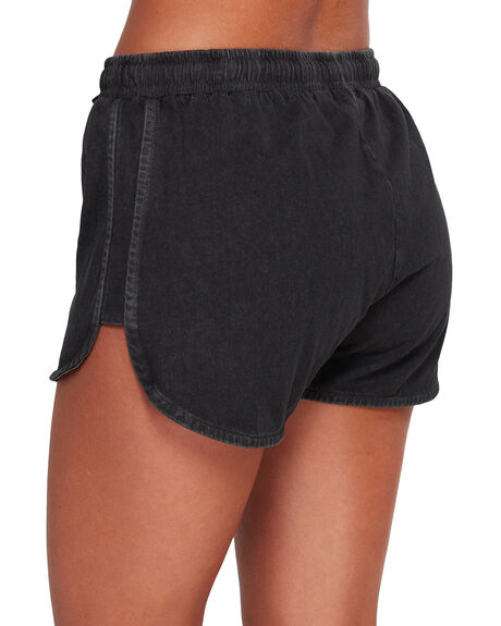 OFF BLACK WOMENS CLOTHING BILLABONG SHORTS - BB-6592272-OFB