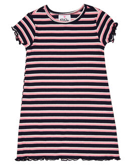 NAVY PINK WHITE KIDS GIRLS EVES SISTER DRESSES + PLAYSUITS - 8044011NPKWT
