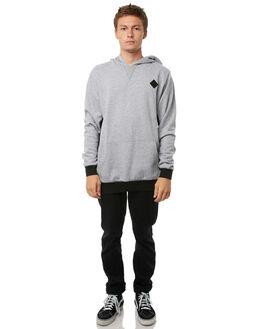 GREY MARLE MENS CLOTHING RVCA JUMPERS - R183155GRYM