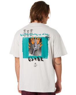 PUMICE MENS CLOTHING GLOBE TEES - GB01910007PUM