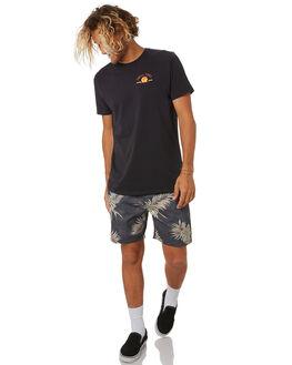 BLACK MENS CLOTHING SWELL TEES - S5202010BLACK
