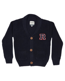 NAVY KIDS BOYS ROOKIE BY THE ACADEMY BRAND JUMPERS + JACKETS - R19W421NVY