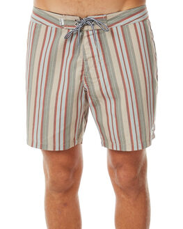 OLIVE MENS CLOTHING RHYTHM BOARDSHORTS - APR18M-TR03OLI