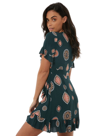 EMERALD WOMENS CLOTHING TIGERLILY DRESSES - T383401EMER